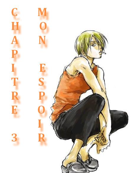 Chapitre n°3: Mon espoir...