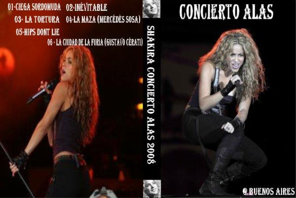 Concierto Alas Buenos Aires / Ciega, Sordomuda  (2008)