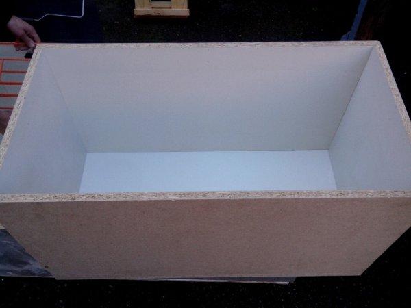 Construction de nouveaux casiers