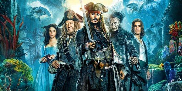 Le naufrage de Pirates des Caraibes