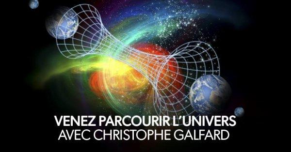 L'Univers à portée de main avec Christophe Galfard