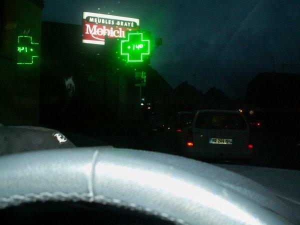 trajet journalier , autoroute pour me rendre a Mulhouse .