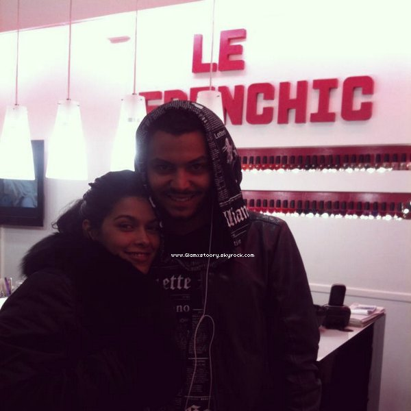 ◊   G L A M x S T 0 0 R Y ___* ;  Daniel et Ayem au FRENCHIC