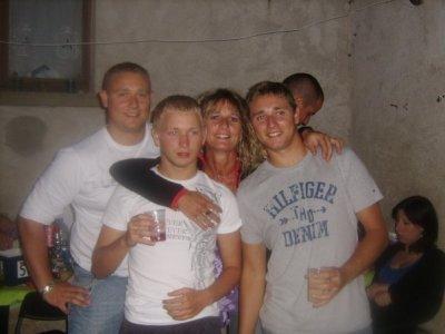 Moi avec la Famille !