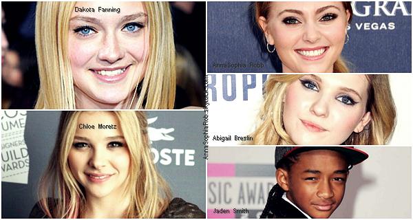 Les futurs grandes stars d'Hollywood ; les 5 noms à retenir !