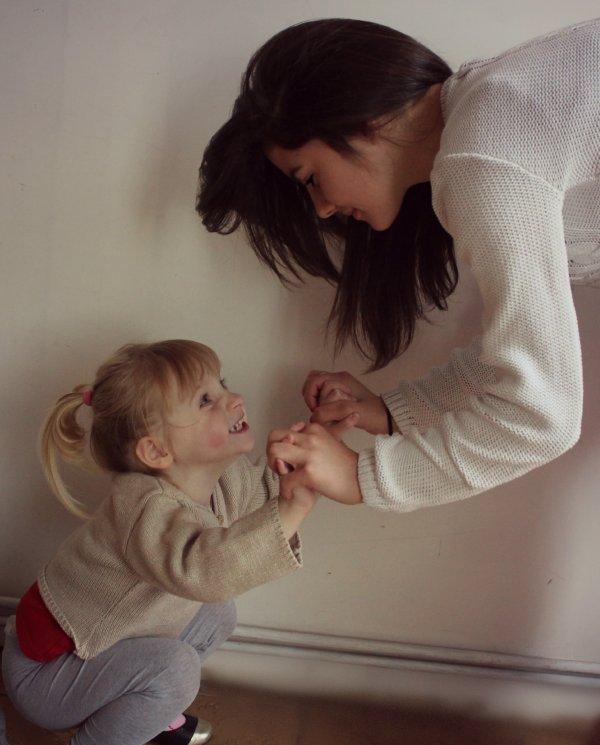 Ma petite soeur,mon bonheur au quotidien! ♥