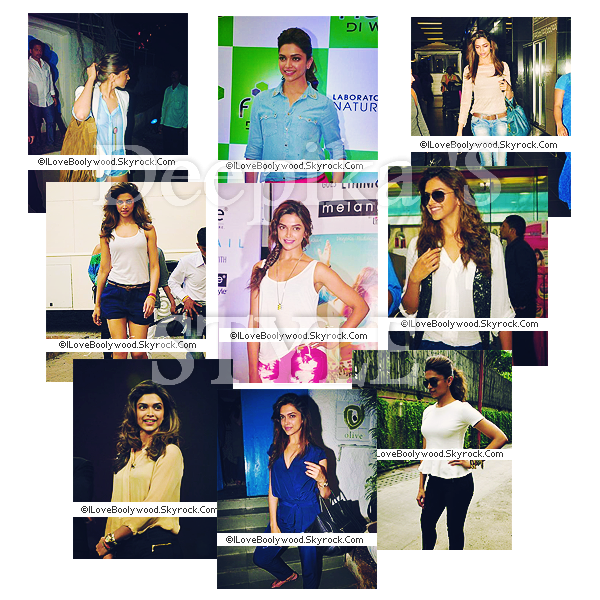 # ARTiCLE >>Deepika's Style    ILOVEBOOLYWOOD:Your source About Bollywood World   Texte--Pix--Déco By Me