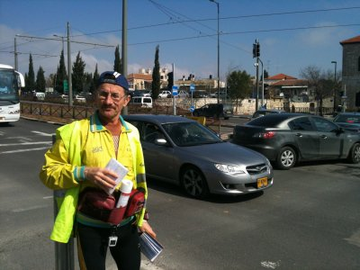 The International Jerusalem Marathon's running tracks have been accredited by AIMS measurers two weeks ago.