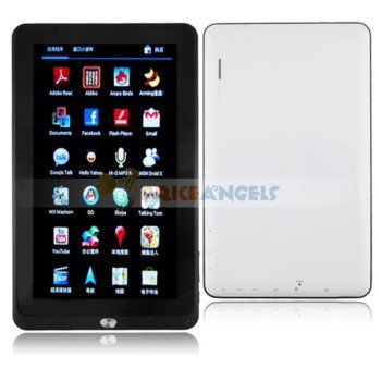 8GB Android 4.0.3 Cortex-A8 1.5GHz 10-inch Capacitive Touch Screen Laptop Tablet PC with Camera Wifi