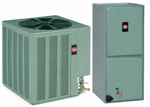 3.5 Ton Rheem 13 SEER R-410A Air Conditioner Split System