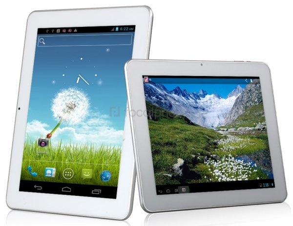 "AMPE A90 9.7"" Android 4.1.1 Dual Core RK3066 1.5GHz Tablet PC with Auto Screenshot, Picture-in-Picture & Capacitive Touch (16GB) (Silver & White)"