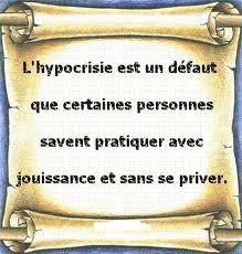 UN MONDE D'HYPOCRITES !!!!!!!!!!!!