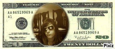 ma sur un billet de bank