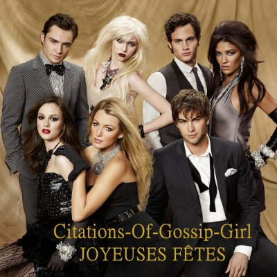 Blog De Citations Of Gossip Girl Salut Jeunesse Dorée De
