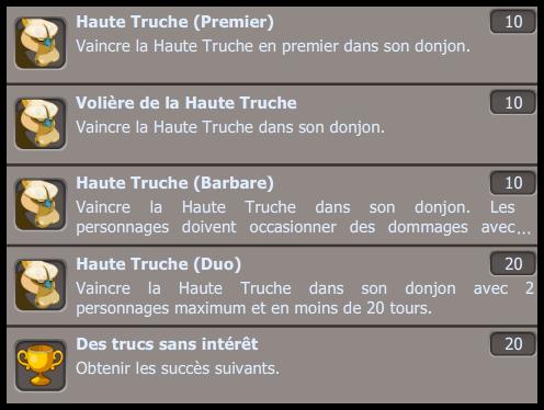 Les Truches arrive sur Dofus pour le mois de Mai !