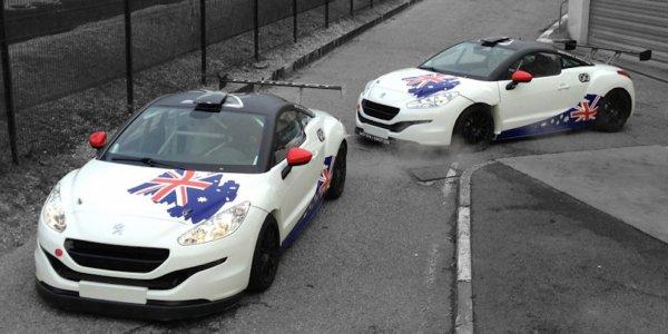 Deux Peugeot RCZ engagés aux 12 Heures de Bathurst
