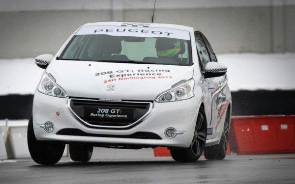 Les noms des huit pilotes sélectionnés pour la 208 GTi Racing Experience