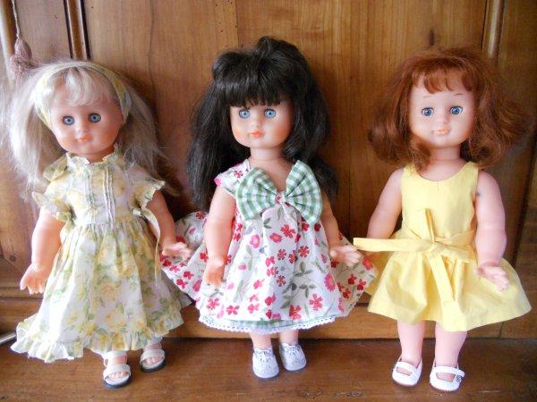 Trois EMILIE ...