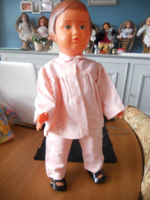 Françoise en pyjama de finette .....