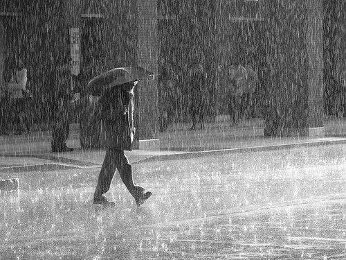 Chronique 2 : Aujourd'hui il pleut.