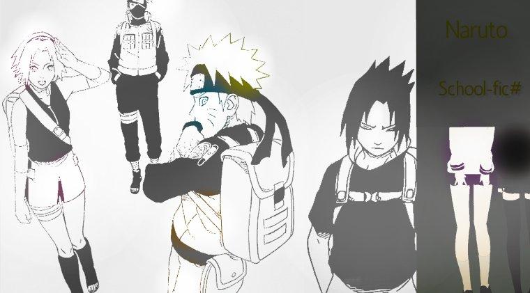 Présentations de nos personnages + Intro. #School-fic Naruto.