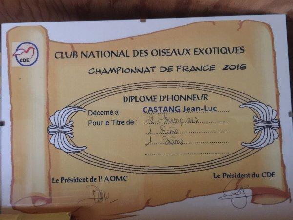 1er concours à Chantonnay