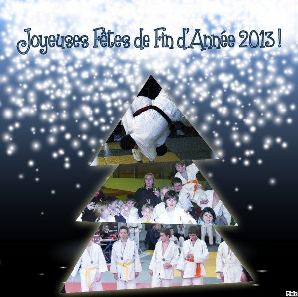HEUREUSES FETES DE FIN D'ANNEE 2013 !