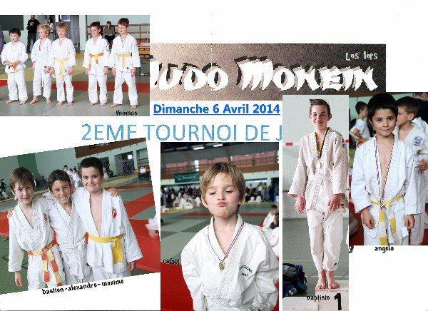 TOURNOI de MONEIN Dimanche 6 Avril 2014