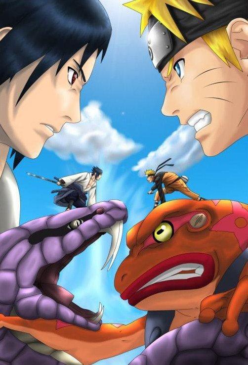 Naruto Vs Sasuke Blog De Naruto Dessin 42
