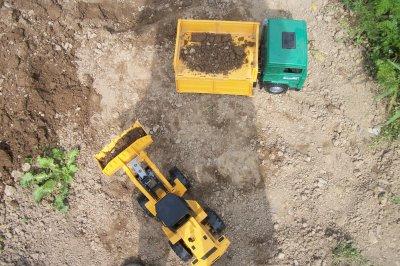 chantier a la ferme