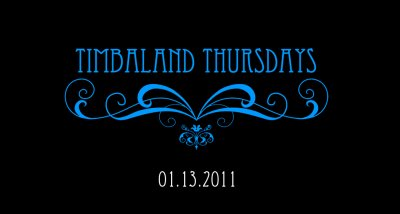 Timbaland Thursday... Fini ? + Timbaland and David Guetta