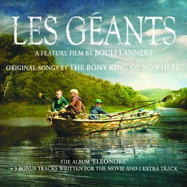 BONY KING OF NOWHERE - Les géants (B.O.) (octobre 2011)