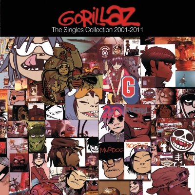 GORILLAZ - The Singles Collection 2001-2011 (décembre 2011)