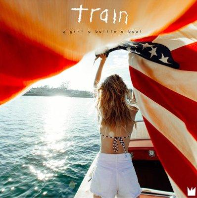 TRAIN - A girl A bottle A boat (janvier 2017)