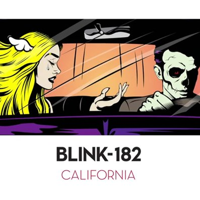 BLINK 182 - california (juillet 2016)