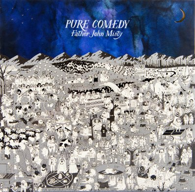 FATHER JOHN MISTY - pure comedy  (avril 2017)