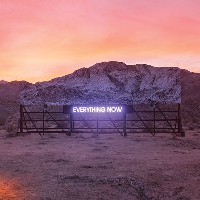 ARCADE FIRE - Everything Now (juillet 2017)