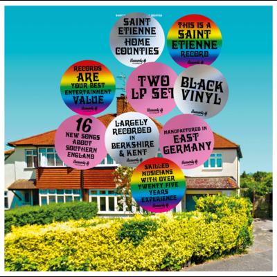 SAINT ETIENNE - Home Counties (juin 2017)