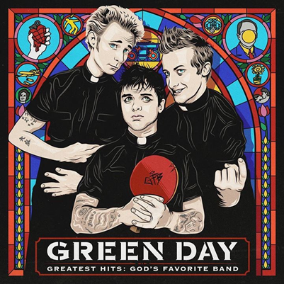 GREEN DAY - Greatest Hits: God's Favorite Band  (novembre 2017)