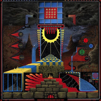 KING GIZZARD AND THE LIZARD WIZARD - Polygondwanaland (novembre 2017)