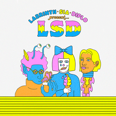 LSD (Labyrinth, Sia, Diplo) - LSD (avril 2019)