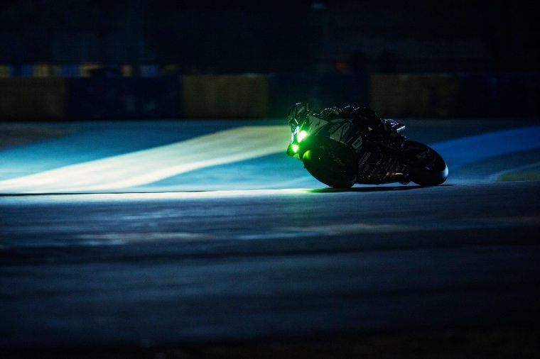 Slow motion - 2014 24 Heures Moto - Michelin