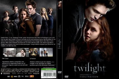 La jaquette du film Twilight