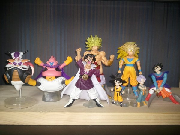 Mes figurines Dragon Ball Z HG 7