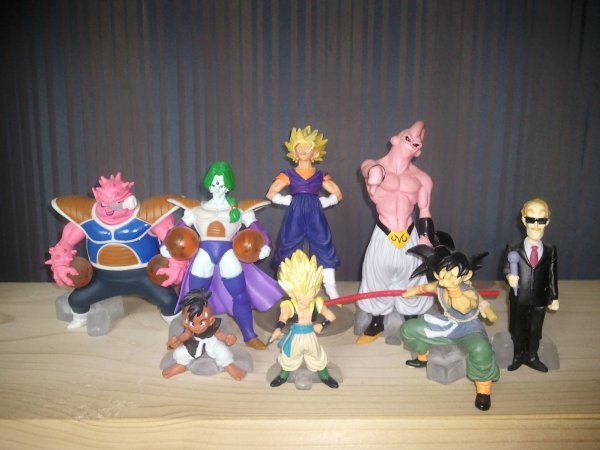 Mes figurines Dragon Ball Z HG 8