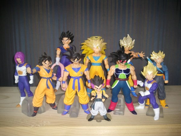 Mes figurines Dragon Ball Z HG 10