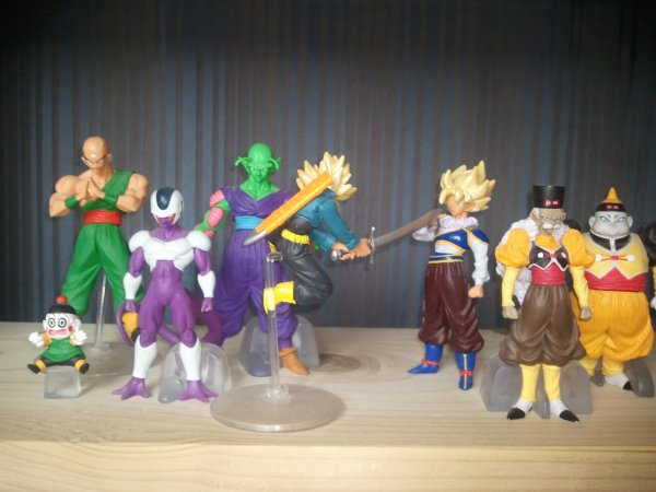 Mes figurines Dragon Ball Z HG 11