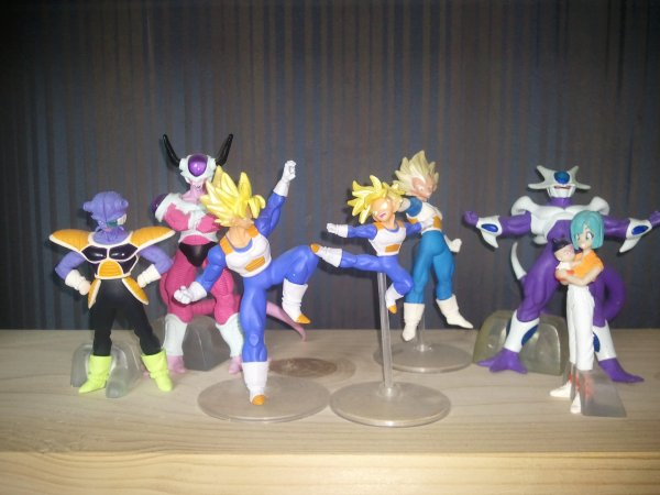 Mes figurines Dragon Ball Z HG 12