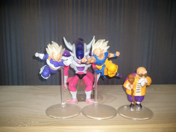 Mes figurines Dragon Ball Z HG 13