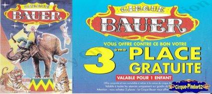 Flyer du Cirque Bauer (n°114)